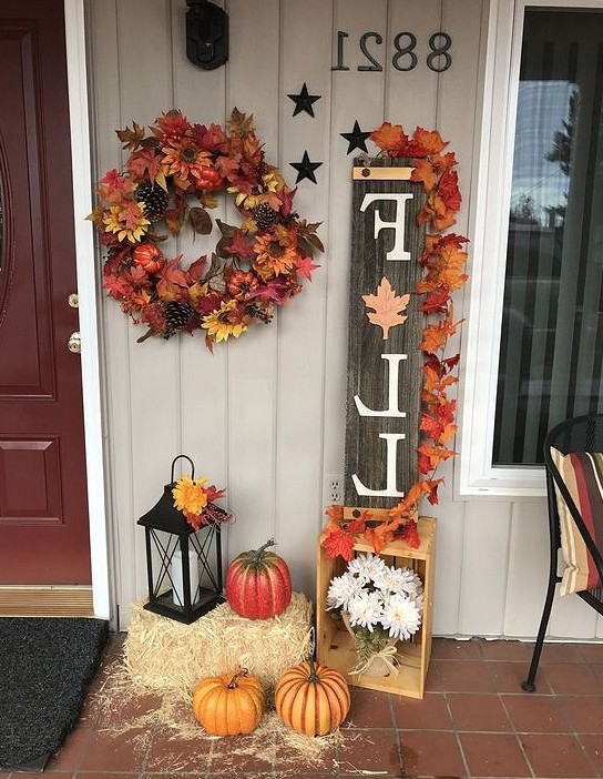 41 Creative DIY Fall Decorations For Harvest DIY decor for home, home decor, fall decoration,pumpkin