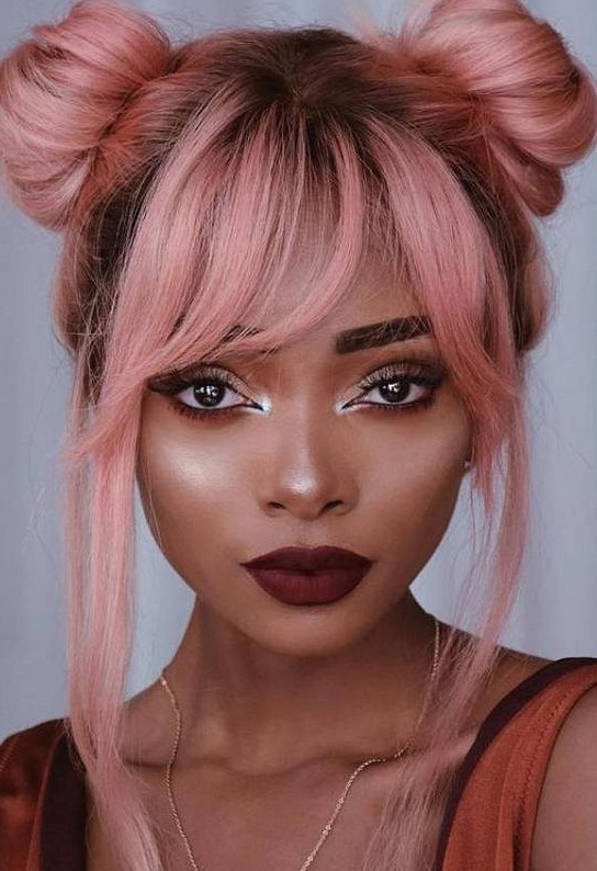 35 Lovely Pink Hair Colors To Inspire Your Next Dye Job hot and bright color  dye, charming pink hair, hair color, pink hairstyles