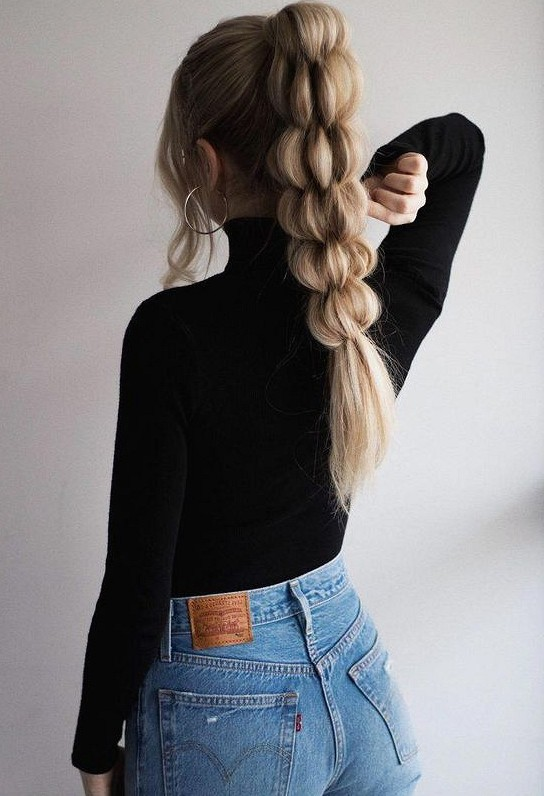 40 Beautiful Unique Braid Long Hairstyles hair style, hair braid,long hair