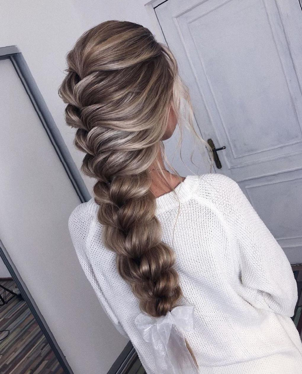 35 Amazing Braided Hairstyles for Long Hair for Summer braid hairstyle for long hair, braid hairstyles, long hairstyles, hairstyles for teens, hairstyles for girls