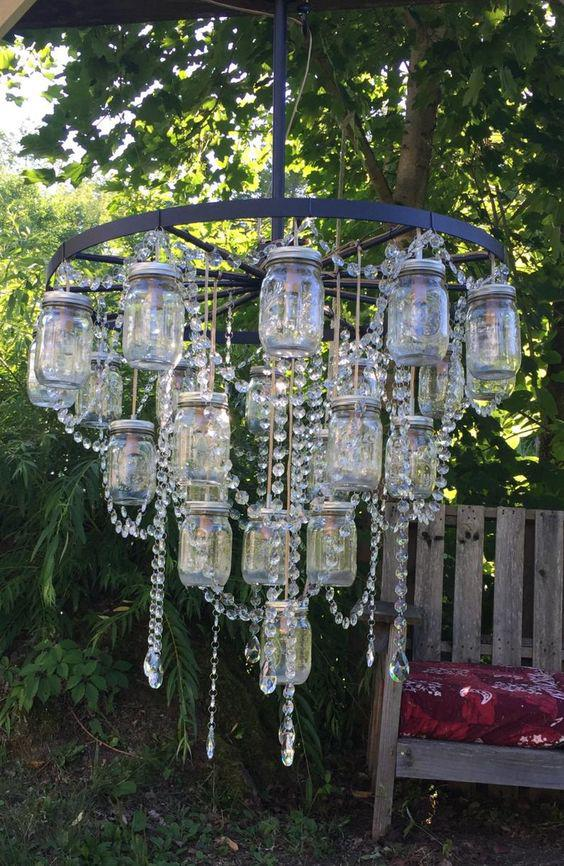 35 Environmental DIY Lighting for Home Decor DIY lamps, DIY decor, home decor, recycle home decor