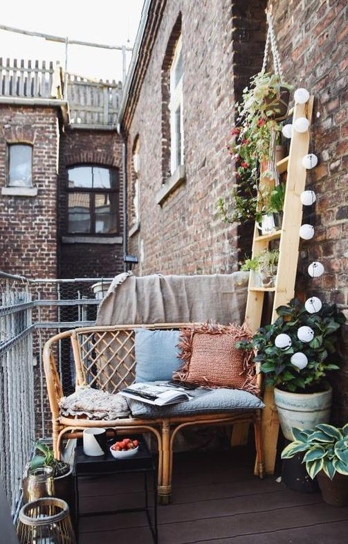 40 Romantic Balconies Ideas You Should Know Balcony, home decor, open balcony, small garden