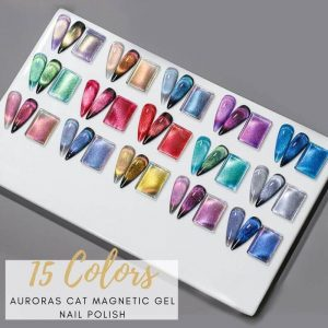 15ML Auroras Cat Eye Magnetic Gel Polish VT202310 - Vettsy