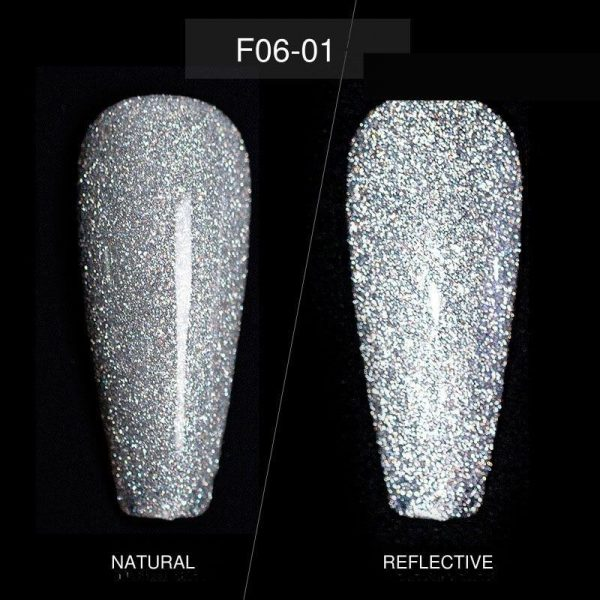 Vettsy 15ML Sparkling Diamond Chipping Gel Nail Polish VT202304 - Vettsy