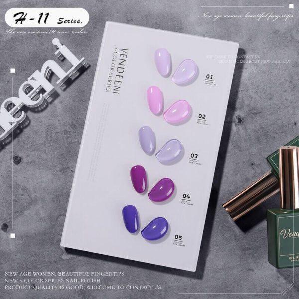 New 5 Color Series Gel Polish VT202311 - Vettsy