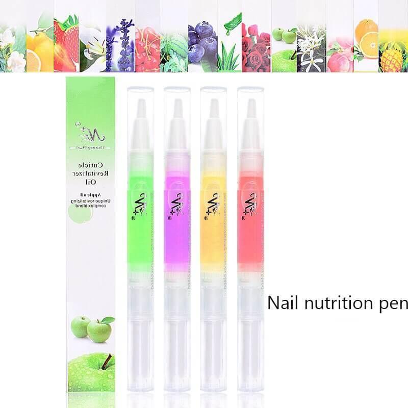 4PCS 5ml Nail Cuticle Oil Pen Manicure Soften Pen VT202314 - Vettsy
