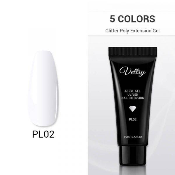 1pcs/5pcs Poly Nail Extension Gel VT04 - Vettsy