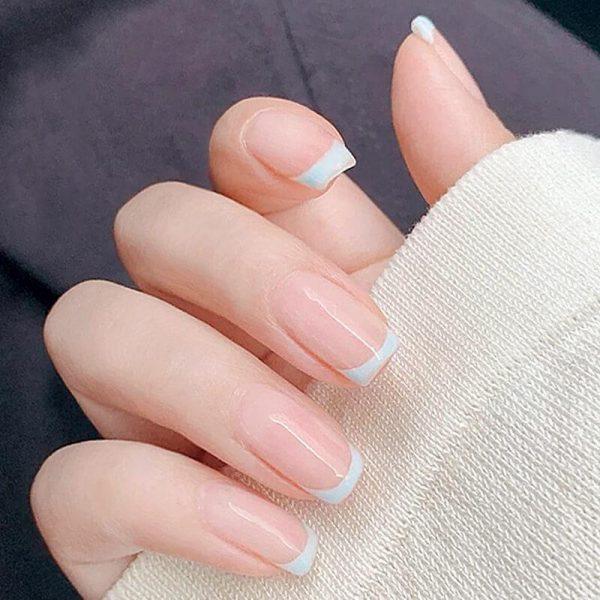 All-in-one Short French Nail Tips Kit VT202319 - Vettsy