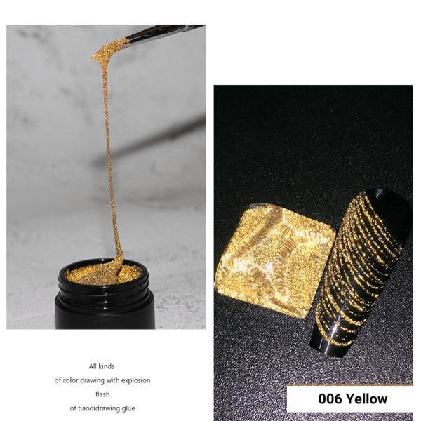 10g Reflective Glitter Spider Gel 6 Colors VT202315 - Vettsy