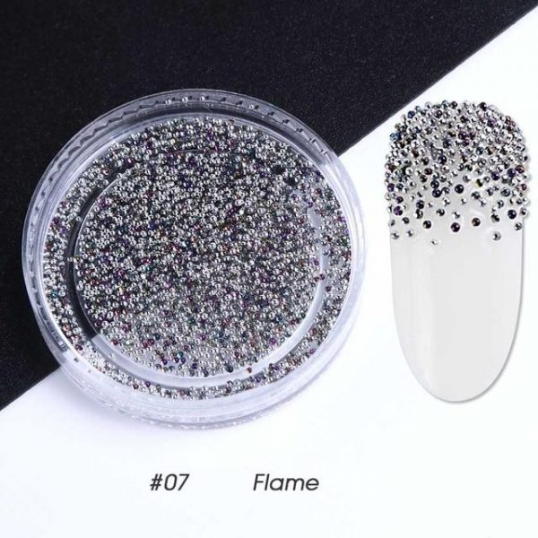 1pcs Metal Micro Elf Beads Nail Art Powder VT202079 - Vettsy