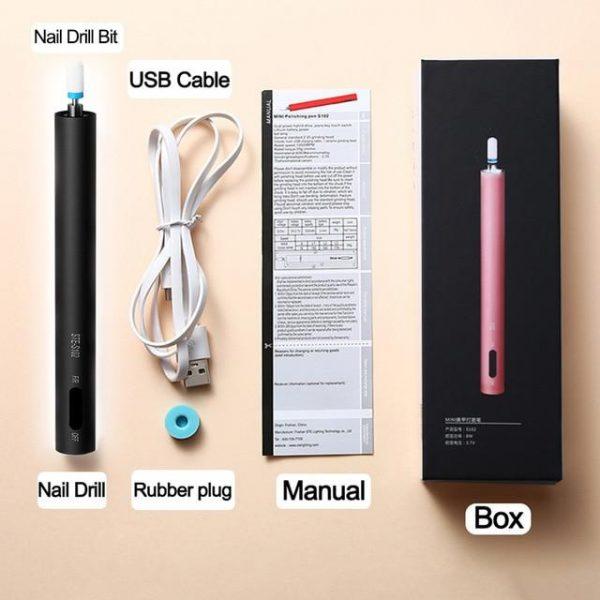 Led Mini Nail Drill Pen Bits VT202216 - Vettsy