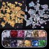 1pcs Aluminum Flakes Sequins Nail Glitter Powder VT202066 - Vettsy