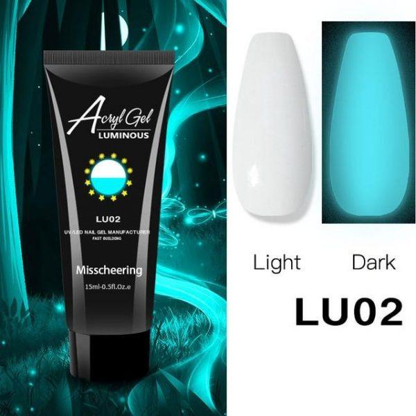 15ML Luminous Polygel Glow In the Dark VT202239 - Vettsy