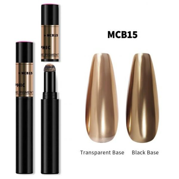 1pcs Magic Mirror Nail Powder Cushion Pen VT202268 - Vettsy