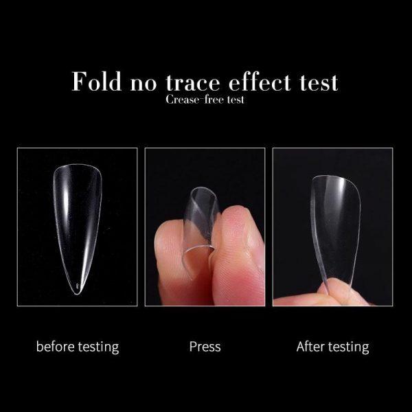 504 Pcs/Box Invisible False Nail Tips VT202279 - Vettsy