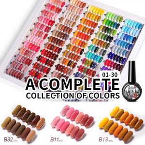 6 Color/ Set Pure Gel Nail Polish VT202295 - Vettsy