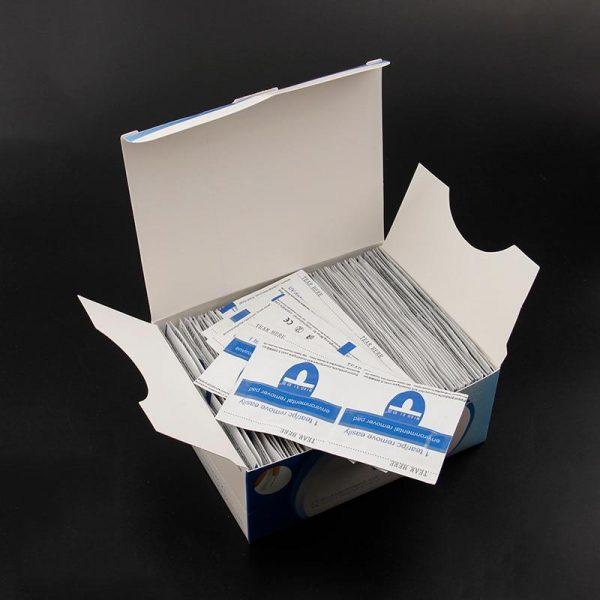 50Pcs Nail Gel Lacquer Polish Foil Remover Wraps With Acetone VT202252 - Vettsy