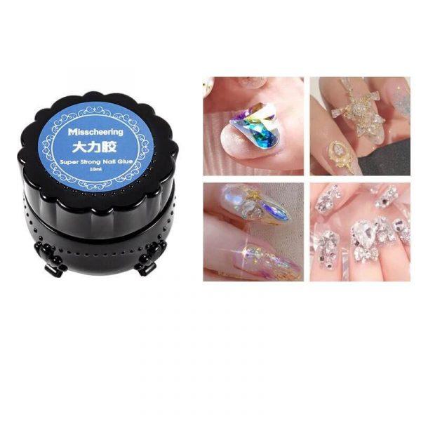 1pcs No Wipe Top Coat Super Strong Adhesive Glue VT202083 - Vettsy